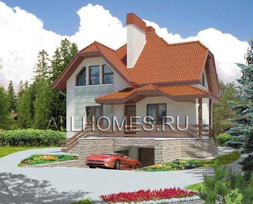 Готовий проект цегляного будинку