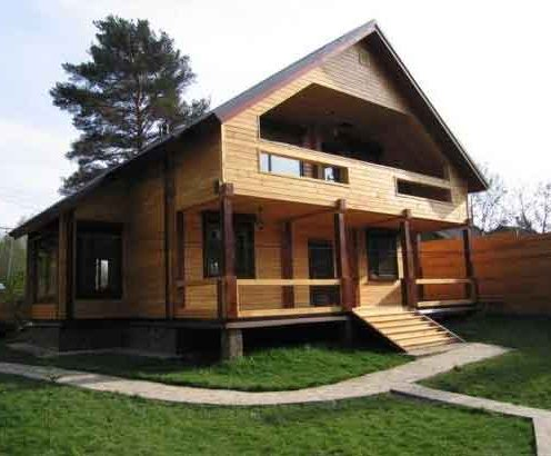 Проект дома из
