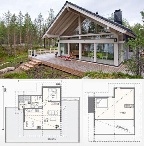 Проект фінського будинку з