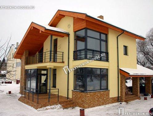 построенный дом проекта