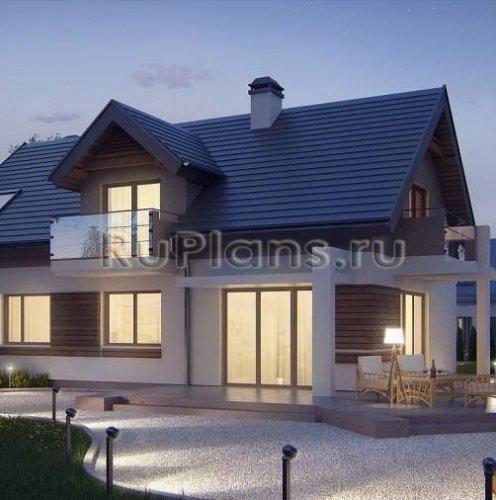 будинки з мансардними вікнами