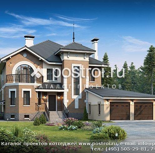 Проект красивого будинку з