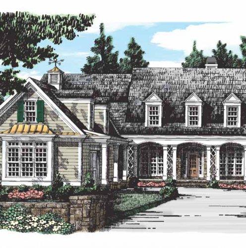Проекты домов, коттеджей