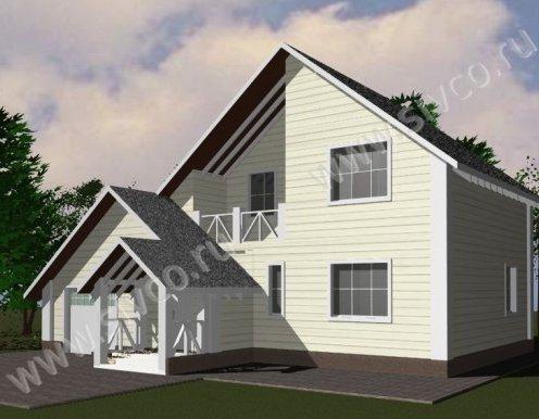 Проекты и цены каркасных домов