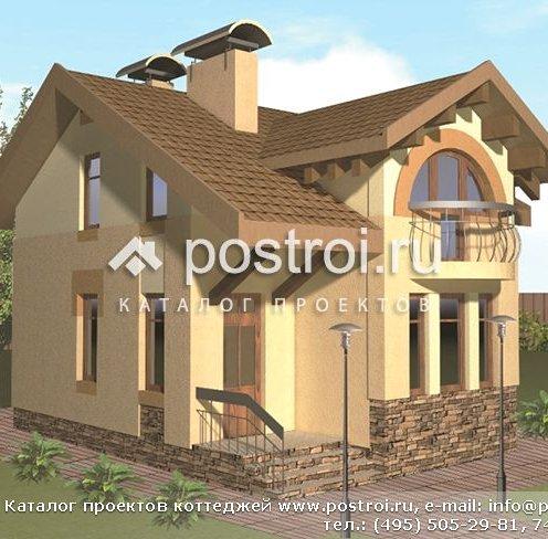 Заміський будинок з балконом